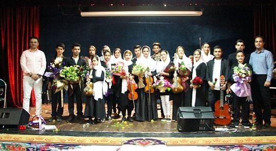 آموزشگاه موسیقی ملودی باران