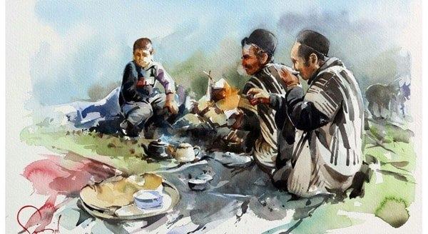 آموزشگاه نقاشی شور پرواز، اصفهان- هوچین