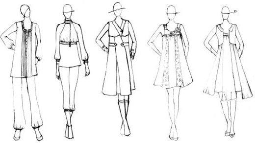 دپارتمان طراحی لباس پایا-هوچین