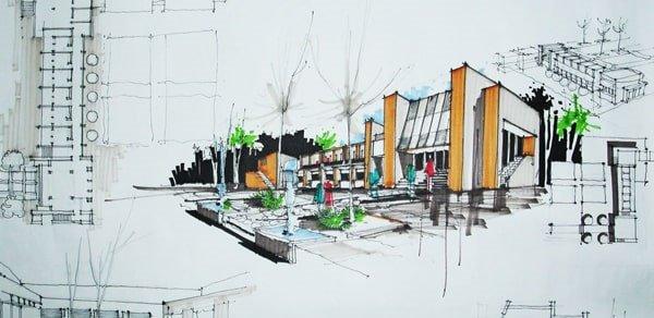 آموزشگاه معماری ادیب-هوچین