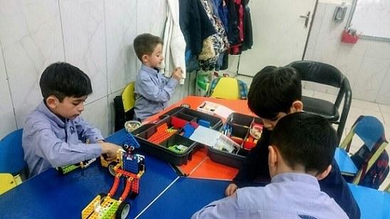 آموزشگاه رباتیک پیشروبات، ولیعصر، ونک- هوچین