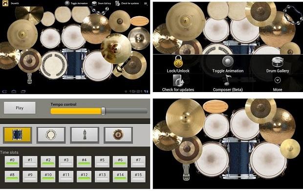 اپلیکیشن Drum Kit- هوچین
