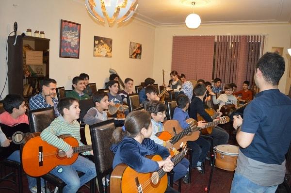 آموزشگاه موسیقی خوش هنر-هوچین