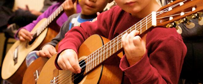 هزینه کلاس گیتار