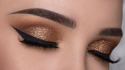 آموزش آرایش چشم ساده