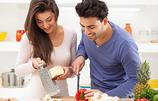 اهمیت آشپزی در زندگی مشترک